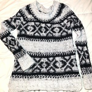 Free People Slouchy Knit Pullover Sweater